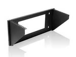 4u wall mounted vertical rack gsa approved monoprice