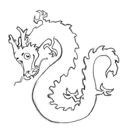 Vietnamese Dragon Coloring Page | vietnamese dragon coloring page sketch coloring page
