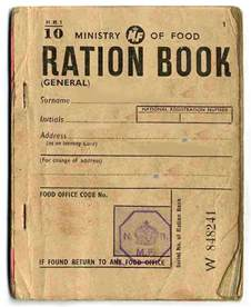 rationing book template lostpastremembered the lost world of bletchley park and