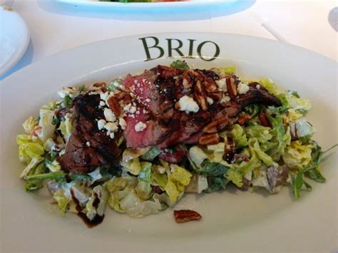 brio steak salad steak salad is my favorite lunch selection picture of