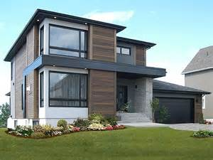 Modern 2 Story House Plans Contemporary House Plans Modern Two Story Home Plan 027h 0336 At