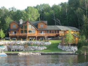 lakefront homes for in michigan mullett lake home for northern michigan lakefront