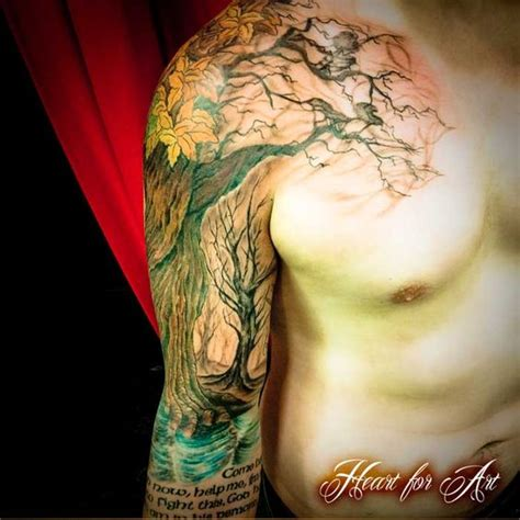 tree with roots tattoo the gallery for gt tree with roots