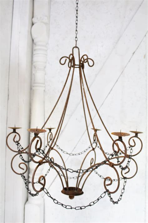 Iron Chandelier With Candles 12 Hanging Candle Chandeliers You Can Buy Or Diy