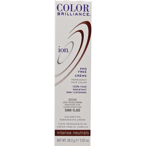 hair color at sallybeautycom ion color brilliance permanent creme intense neutrals 5nn