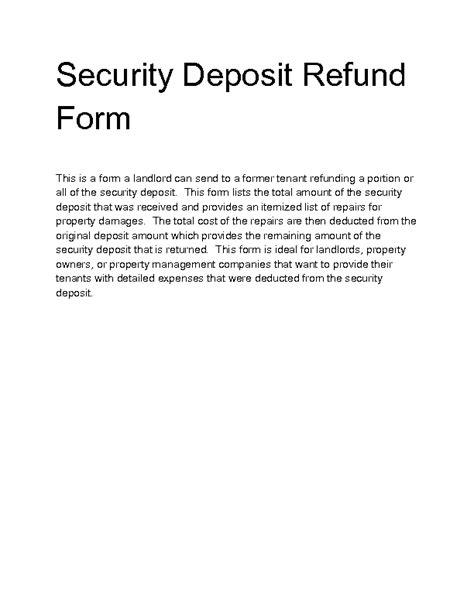 Sle Credit Card Refund Letter Sle Letter Landlord Keeping Security Deposit 28 Images Best Photos Of Regarding Security