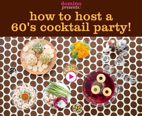how to host a cocktail party yli tuhat ideaa 60s party themes pinterestiss 228
