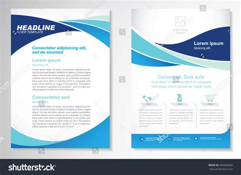 stock layout brochure template vector brochure flyer design layout template stock vector