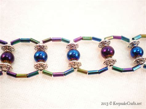 beaded bracelet   Keepsake Crafts