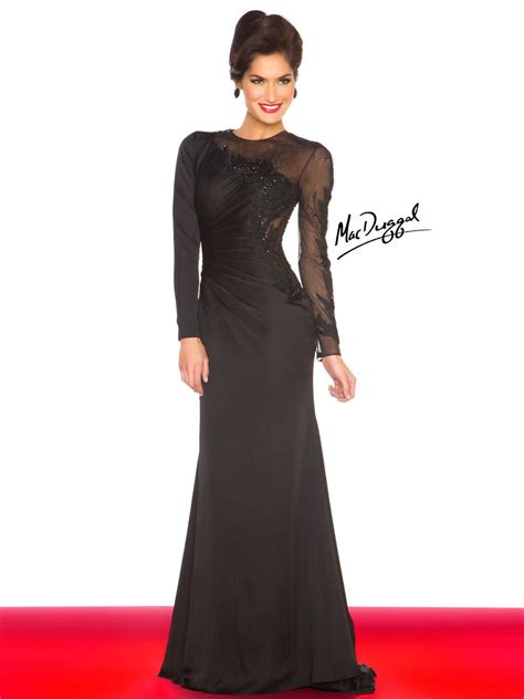 Mac Formal Black Collection by Mac Duggal Black White Dresses In Michigan Viper
