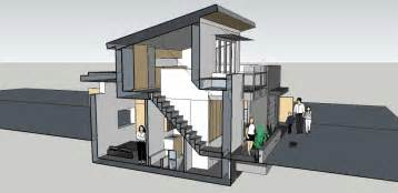 Home Design Plans For 600 Sq Ft 3d Gallery A Loft Like Laneway House By Lanefab Small