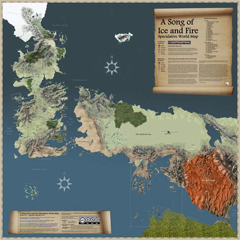 got map of thrones world map map collection