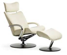 White Recliners by Leather Recliners Chair From Leather Modern Home