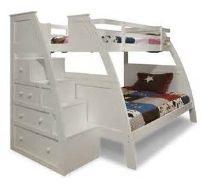 Bunk Bed With Storage Stairs Bunk Bed With Stairs Home Decorator Shop
