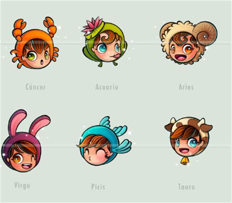 cute horoscope zodiacs characters