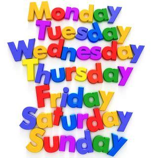 days are lyrics nurseryrhymes org days of the week lyrics and