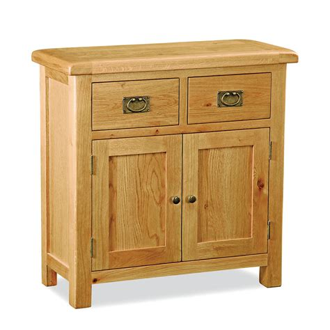 salisbury oak mini sideboard