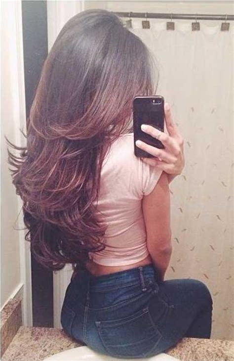 long shaggy hair for women front and back image back view shag haircut new style for 2016 2017