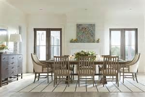 resort deck shelter bay extendable rectangular dining room set from coastal living 062 31 36