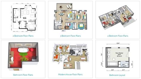 types of house plans home designer tablet app new features roomsketcher
