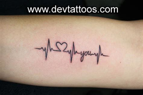heart beat rate tattoo welcome to dev tattoo