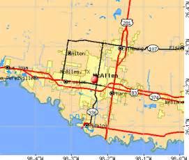 mcallen map