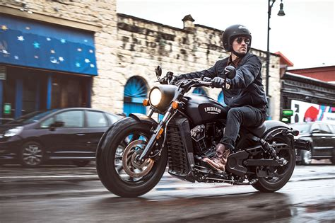 Indian Motorcycle Launches Stripped Down 2018 Scout Bobber