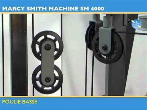 banc de musclation sm 4000 tool fitness youtube