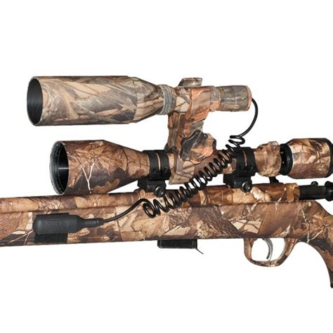 Camo Gun Scope Green Led Hunting Light Camo And Lights