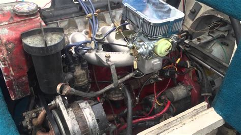 volvo penta  weber conversation carburetor youtube