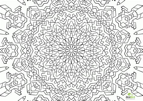 free printable complex coloring pages coloring home