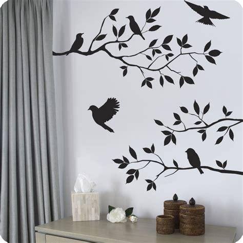 Excelente Papel Decorativo Para Pared #10: Pajaros-pegatina-cortinas-cestos.jpg