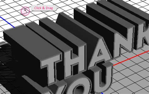 Tulisan Acrylic simple 3d acrylic text effect glass cube psd font textuts