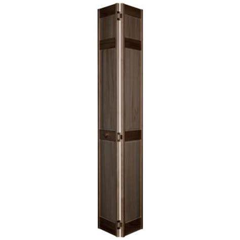 Wood Bifold Interior Doors Home Fashion Technologies 6 Panel Minwax Walnut Solid Wood Interior Bifold Closet Door