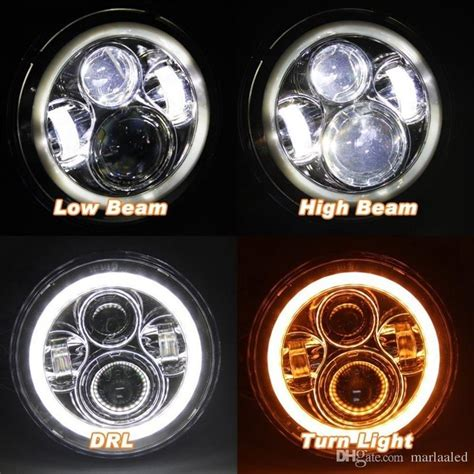 lada h3 led 2019 for lada 4x4 niva 7 black led h4 headlight