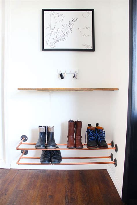 diy shoe holder 40 creative ways to organize your shoes