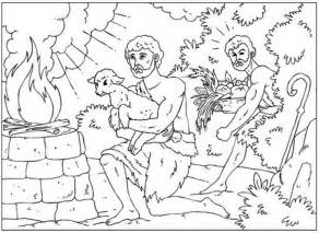 cain and abel coloring pages iconography of cain and abel the scriptorium daily