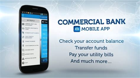 mobile banking commercial bank commercial bank mobile banking app