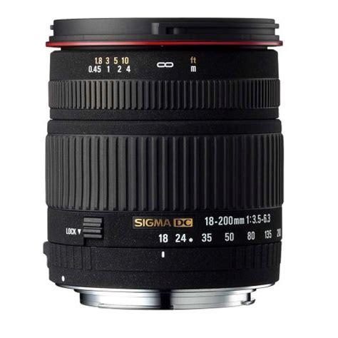 Sigma Digital cheapest sigma 18 200mm f 3 5 6 3 dc lens for sigma digital slr cameras for sale