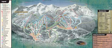 breckenridge ski map breckenridge colorado ski trail map