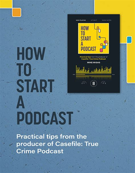 Practical Tips On How To Start by Quot How To Start A Podcast Practical Tips From The Producer