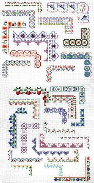 Pinterest Count Layout | counted cross stitch design bountiful borders cross
