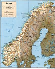 Norway Europe Nationmaster Maps Of Norway 8 In Total
