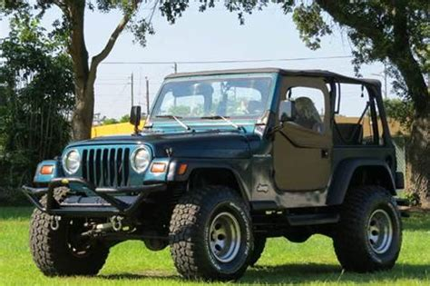 jeep wrangler for sale 1998 1998 jeep wrangler for sale carsforsale
