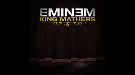 eminem king mathers king mathers eminem album 2008 outdated youtube
