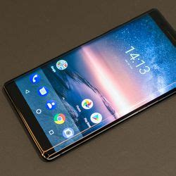 the nokia 8 sirocco is a curved glass android flagship