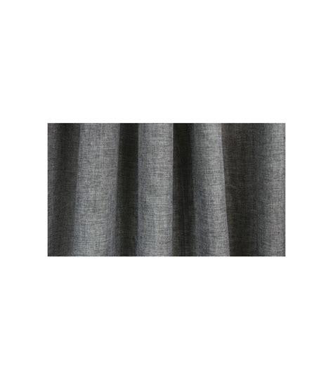 rideau de en tissu gris avec liner