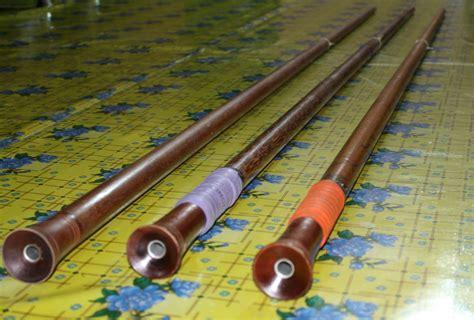 Sumpit Kayu Panjang dayak orang ulu sumpit sarawak