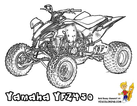 4 Wheeler Coloring Pages by Free Coloring Pages Of Bikes