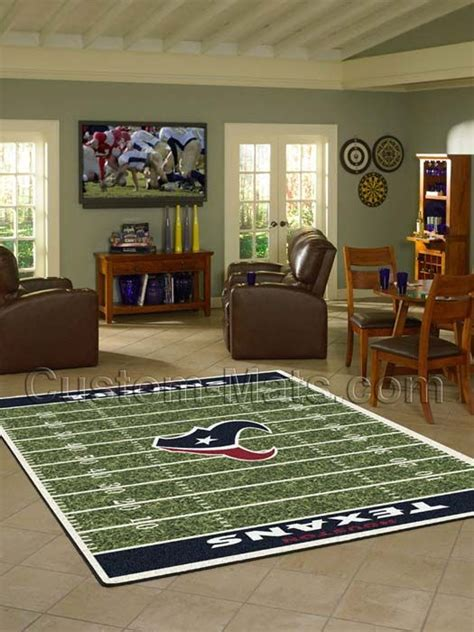 custom rugs houston custom mats by gallant custom mats houston houston texans nfl home field rug sports